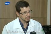 Dr. Leonardo Dini em entrevista para o Balanço Geral da Record